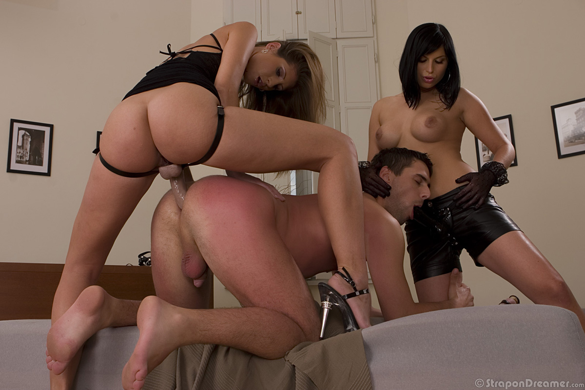 Female domination strap on story
